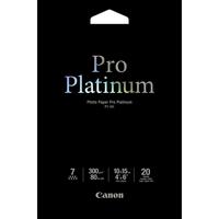 Canon Pro Platinum 2768B013 Photo Paper - 100 mm x 150 mm - 20 x Sheet