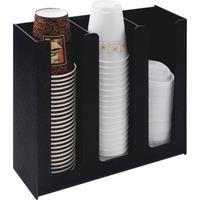Vertiflex� Cup Holder, 12 3/4w x 4 1/2d x 11 3/4d, Black VRTVFPC1000