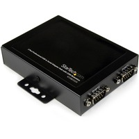 StarTech.com 2 Port Wall Mountable USB to Serial Adapter Hub with COM Retention - 2 x 9-pin DB-9 Male RS-232 Serial