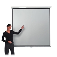 Metroplan Leader 210304 Manual Projection Screen