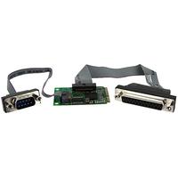 StarTech.com 1S1P Mini PCI Express Serial Parallel Card w/ 16950 UART - 1 x 9-pin DB-9 Male RS-232 Serial