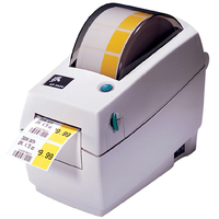 Zebra LP 2824 Plus Direct Thermal Printer - Label Print - Monochrome
