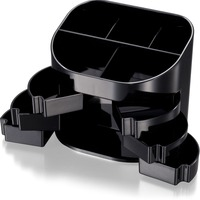 "Double Supply Organizer, 5""x3-3/4""x4-1/2"", Black OIC22822"