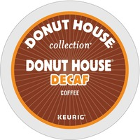Donut House Decaffeinated Light Roast Coffee GMT7534