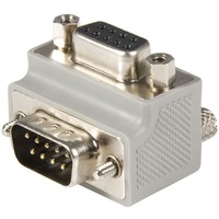 StarTech.com Serial adapter cable - Type 2 - right angle DB9 (m) -DB9 (f) - Serial ATA - 1 x DB-9 Serial - 1 x DB-9 Female Serial