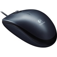 Logitech M100 Mouse - Optical Wired