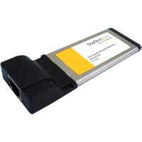 StarTech.com 1 Port ExpressCard Gigabit Laptop Ethernet NIC Network Adapter Card - ExpressCard - 1 x RJ-45 Network - 10/100/1000Base-T - Internal