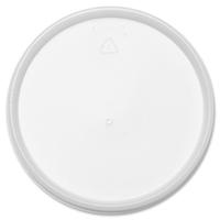 Dart Plastic Lids, Fits 32oz Foam Cups, Vented, White, 500/Carton DCC32JL