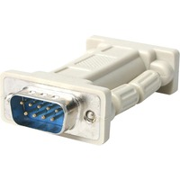 StarTech.com DB9 RS232 Serial Null Modem Adapter - M/F