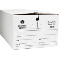 Business Source String/Button Med-dty Storage Box Deal
