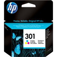 HP No. 301 Ink Cartridge - Cyan, Magenta, Yellow