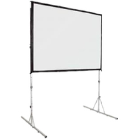 "Metroplan Fast-Fold Deluxe 288609 Projection Screen  2110 x 3660mm (HxW) - 83"" x 144"""