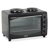 Oven W/burner 22.75x15.75x15.4 Black Avamkb42b - 1473213 - Kitchen Appliances 1473213