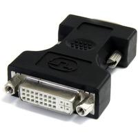 StarTech.com DVI to VGA Cable Adapter - Black - F/M - 1 x HD-15 Male VGA - 1 x DVI-I (Dual-Link) Female Digital Video - Black