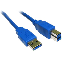 Cables Direct USB3-801BL USB Data Transfer Cable - 1 m - Shielding