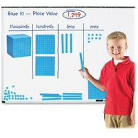 Learning Resources Giant Magnetic Base Ten Set LRNLER6366