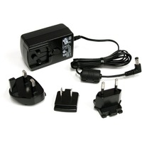 StarTech.com 12V DC 1.5A Universal Power Adapter - 12V DC - 1.5A For KVM Switch