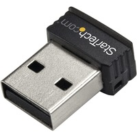 StarTech.com USB 150Mbps Mini Wireless N Network Adapter - 802.11n/g 1T1R - 150 Mbps - External