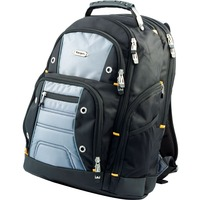 "Targus Drifter TSB238EU Carrying Case (Backpack) for 40.6 cm (16"") Notebook - Black, Grey - Water Resistant, Scratch Resistant Pocket - Polyester, Nylon - Shoulder S"