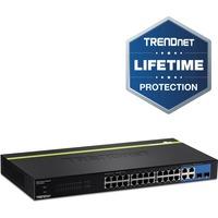 TRENDnet WebSmart TEG-424WS 28 Ports Manageable Ethernet Switch