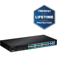 TRENDnet WebSmart TPE-224WS 28 Ports Manageable Ethernet Switch