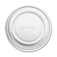 Dixie Foods Dxepl4 Souffle Cup Lids, 4oz, 2400-Ct, White DXEPL4