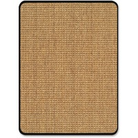 deflecto Harbour Pointe Color Band Sisal Decorative Chairmat for Hard