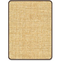 deflecto Harbour Pointe Chunky Wool Jute Decorative Chairmat for Hard