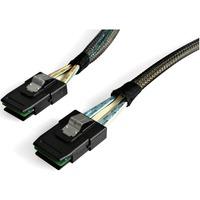 StarTech.com 100cm Serial Attached SCSI SAS Cable - SFF-8087 to SFF-8087 - 1 x SFF-8087 Male SAS - 1 x SFF-8087 Male SAS