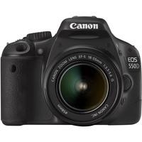 Canon EOS 550D 18 Megapixel Digital SLR Camera (Body with Lens Kit) - 18 mm - 55 mm