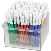 Dixon Prang Art Markers, Fine Tip, Assorted DIX80744
