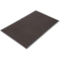 Crown Needle Rib Wipe & Scrape Mat, Polypropylene, 48 x 72, Brown CWNNR0046BR