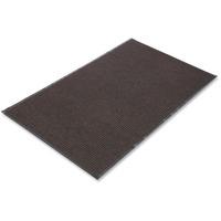 Crown Needle Rib Wipe & Scrape Mat, Polypropylene, 36 x 60, Brown CWNNR0035BR