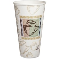 Dixie Hot Cups, Paper, 20oz, Coffee Dreams Design, 25/Pack DXE5360CD