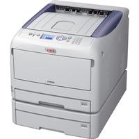 Oki C800 C822DN LED Printer - Colour - 1200 x 600 dpi Print - Plain Paper Print - Desktop