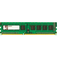 Kingston RAM Module - 8 GB (1 x 8 GB) - DDR3 SDRAM - 1333 MHz DDR3-1333/PC3-10600 - ECC - Unbuffered - 240-pin - DIMM