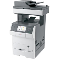 Lexmark X740 X748DTE Laser Multifunction Printer - Colour - Plain Paper Print - Desktop