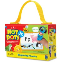 Educational Insights Beg. Phonics Hot Dots Jr Card Set EII2352