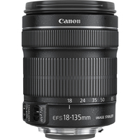 Canon - 18 mm to 135 mm - f/3.5 - 5.6 - Zoom Lens for Canon EF/EF-S - 67 mm Attachment - 0.28x Magnification - 7.5x Optical Zoom - STM - 76.6 mmDiameter