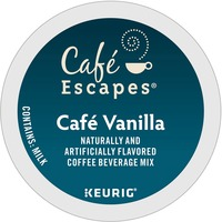 Keurig K-Cup Cafe Escapes Cafe Vanilla, 24/Pack GMT6812