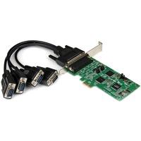 StarTech.com 4 Port PCI Express PCIe Serial Combo Card - 2 x RS232 2 x RS422 / RS485 - PCI Express x1 - 4 x DB-9 Male RS-232/422/485 Serial Via Cable - Plug-in Card
