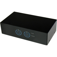 StarTech.com 2 Port SuperSpeed USB 3.0 VGA KVM Switch with Audio and Cables - 2 Computer(s) - 1 Local User(s) - 2048 x 1536 - 6 x USB - 3 x VGA