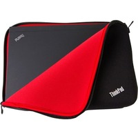 """Lenovo Carrying Case (Sleeve) for 33.8 cm (13.3"""") Notebook - Black, Red"""