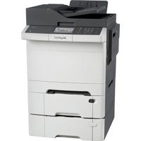 Lexmark CX410DTE Laser Multifunction Printer - Colour - Plain Paper Print - Desktop
