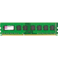 Kingston ValueRAM RAM Module - 8 GB (1 x 8 GB) - DDR3 SDRAM - 1333 MHz DDR3-1333/PC3-10600 - 1.35 V - ECC - Registered - CL9 - 240-pin - DIMM