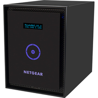 Netgear ReadyNAS 316 6 x Total Bays Network Storage Server - Desktop - Intel Atom Dual-core (2 Core) 2.10 GHz - 12 TB HDD (6 x 2 TB) - 2 GB RAM - RAID Supported X-RA