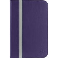 "Belkin Cinema Stripe Carrying Case (Folio) for 20.3 cm (8"") Tablet PC - Purple - Polyurethane Leather"