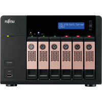 Fujitsu CELVIN Q902 6 x Total Bays NAS Server - Tower - 1 x Intel Atom2.10 GHz - 12 TB HDD (6 x 2 TB) - 2 GB RAM DDR3 SDRAM - Serial ATA - RAID Supported 0, 1, 5, 6,