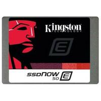 """Kingston SSDNow E50 100 GB 2.5"""" Internal Solid State Drive - SATA - 550 MB/s Maximum Read Transfer Rate - 530 MB/s Maximum Write Transfer Rate - 27000IOPS Random 4KB"""
