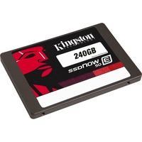 """Kingston SSDNow E50 240 GB 2.5"""" Internal Solid State Drive - SATA - 550 MB/s Maximum Read Transfer Rate - 530 MB/s Maximum Write Transfer Rate - 48000IOPS Random 4KB"""